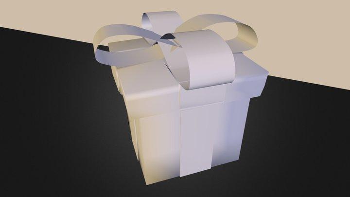 Christmas Gift.obj 3D Model