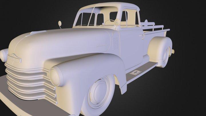 Chevy 3100 3D Model