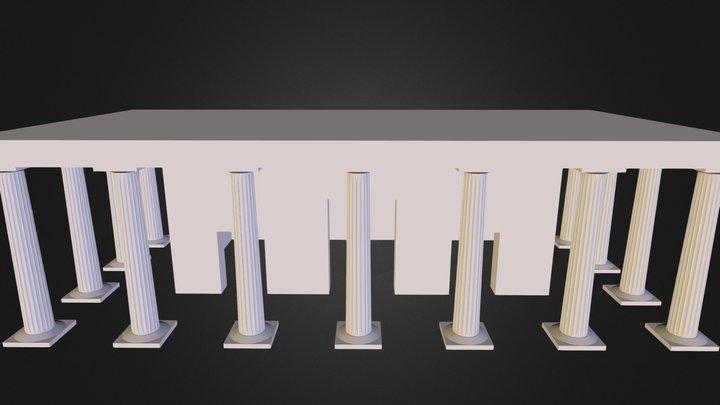 anc_building.3DS 3D Model