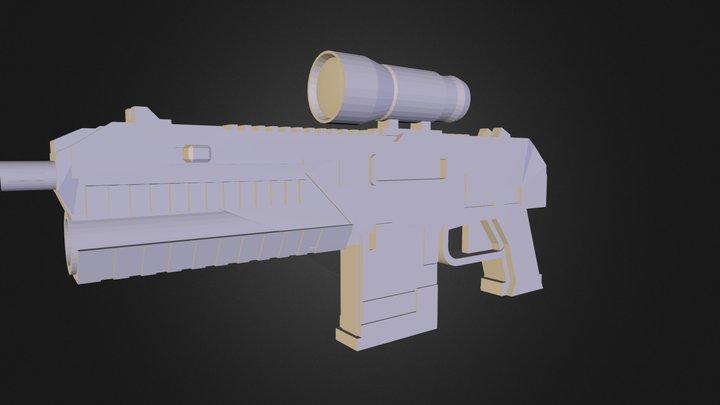 tactical gun.stl 3D Model