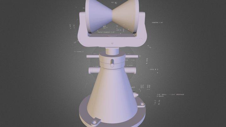 Stock Bracket 3D Model