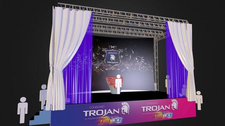 Stand Condones Trojan 3D Model