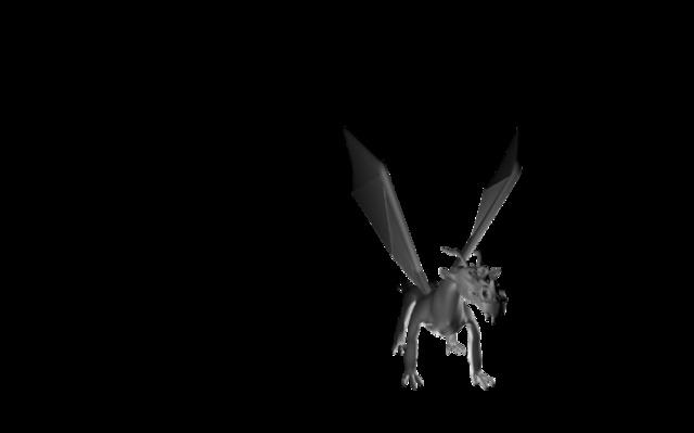 3d Dragon 3D Model