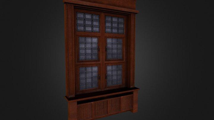 WindowWall.FBX 3D Model
