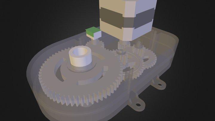 steeringGearbox.dae 3D Model