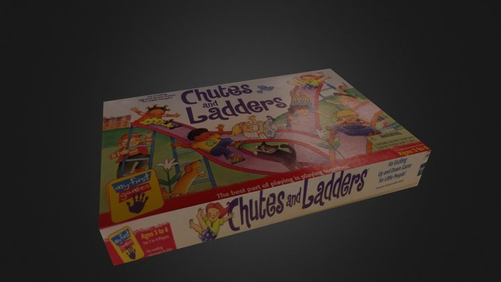 Chutes And Ladders 3D Model