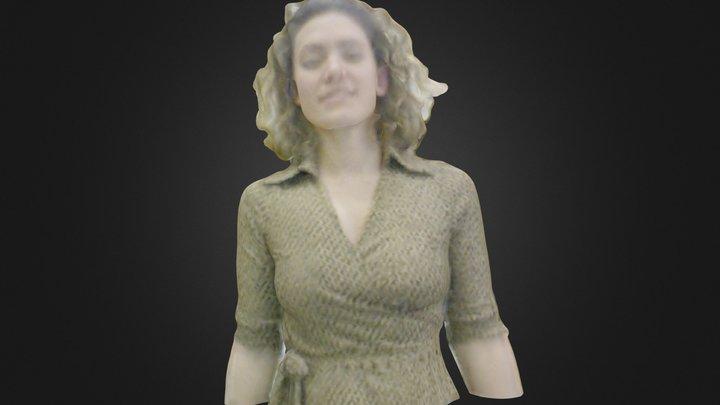 Lauren by Skanect 3D Model
