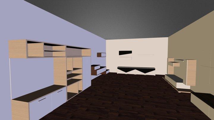 izlozbeni salon 3D Model