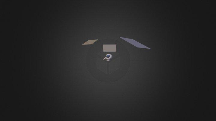 Fauteuil design proche.blend 3D Model