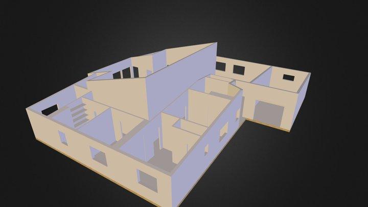 Maison Etienne (avec placards) 3D Model