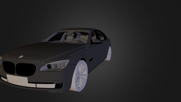 Car BMW 750li N260912.3DS 3D Model