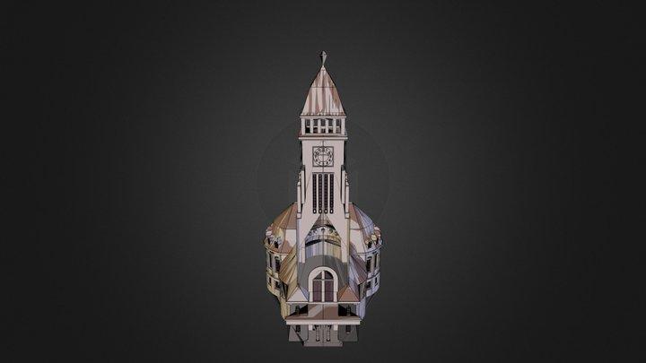 Kirche 09 04 2013_comp.dae 3D Model