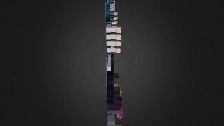 Placa Base 3D Model