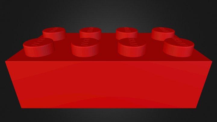 Legobit.stl 3D Model