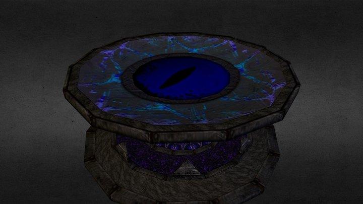 Dark Wizard's Table 3D Model