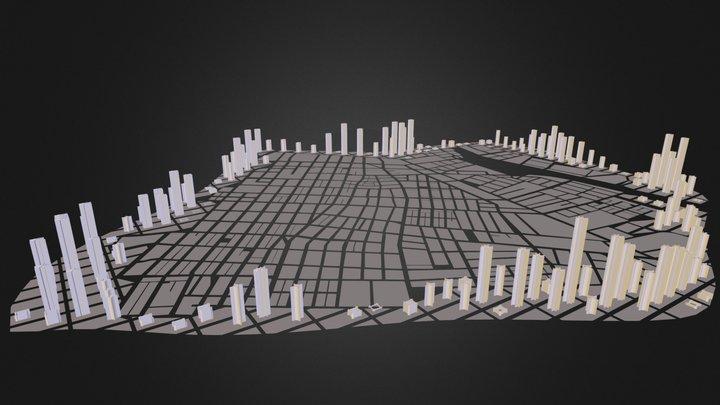 3ds_CITY MODEL.3ds 3D Model