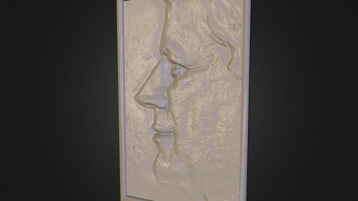 JFK Coin PhoneScope 3D 3D Model