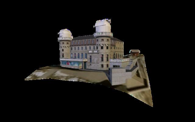 Gornergrat 3D Model