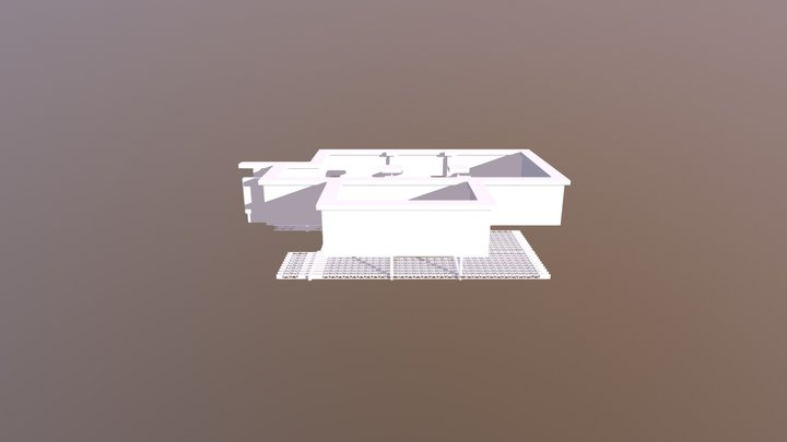 1269DeSabrevois-3DView-Mod-3D-Structure-Joists+F 3D Model