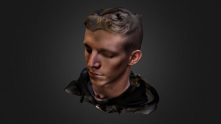 Albert Textured 3D Model