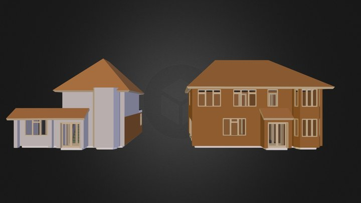 Raz house.3ds 3D Model