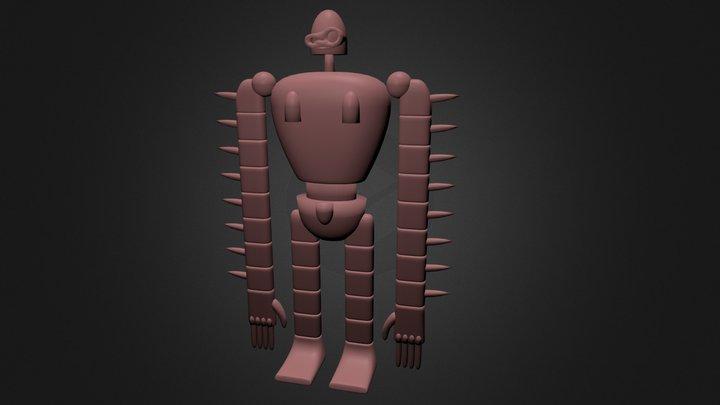 Laputa robot 3D Model