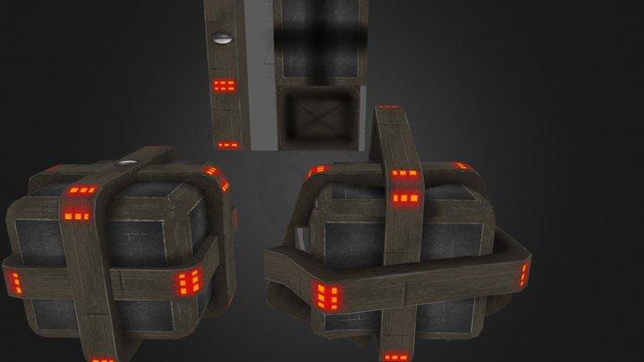 Box poulpe 3D Model