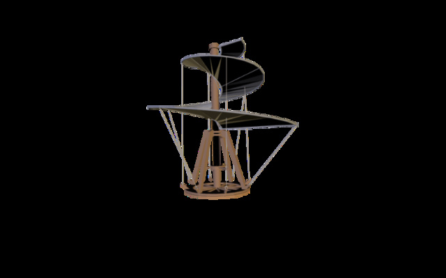 Air_Screw.3ds 3D Model