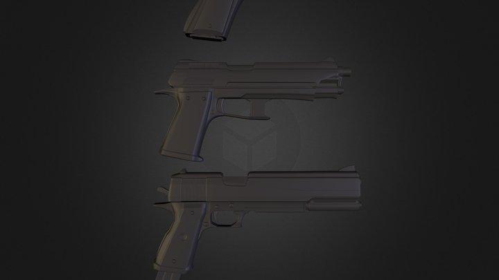 StrangerGuns.obj 3D Model