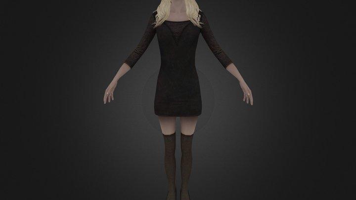 Girl 2 3D Model