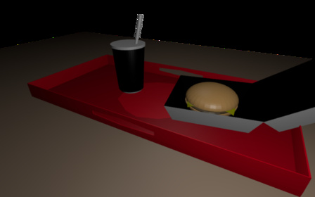 burger joint.blend 3D Model