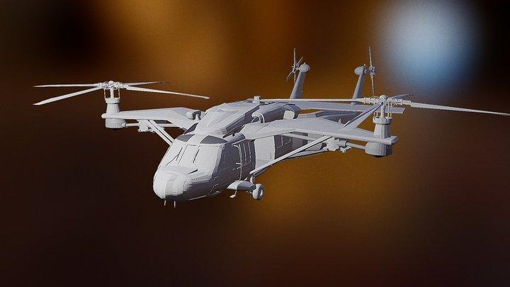 UH-557 3D Model