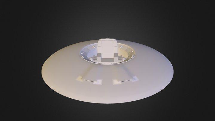 YettieSaucer.3DS 3D Model