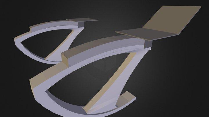FixedVersionMounted 3D Model