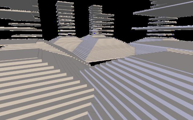 Stepped 3D Model