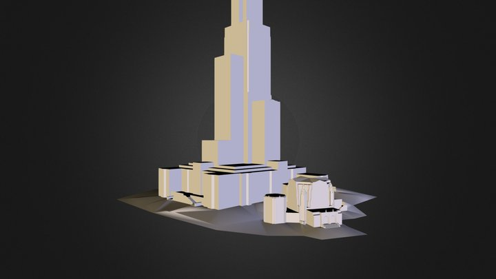 Cathedral of Learning 3D Model