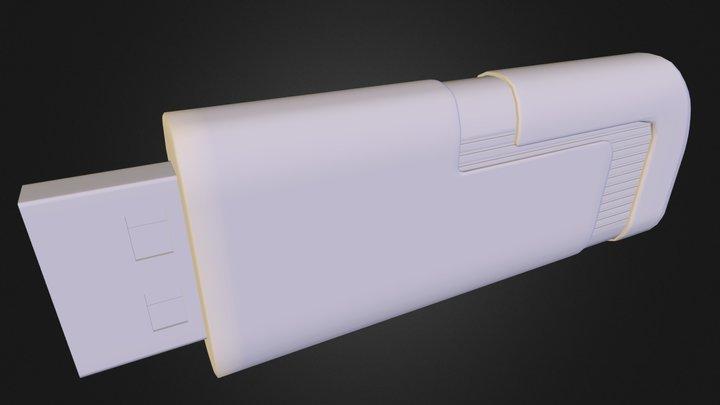 usb memory 4gb 3D Model