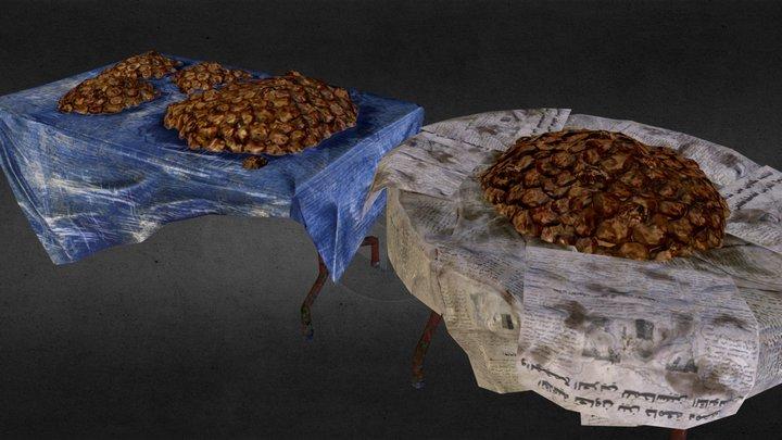 yemen store tables 3D Model
