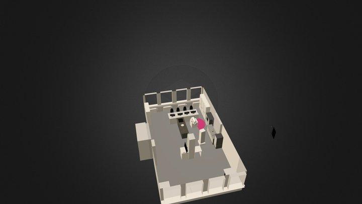 ias_kitchen_pr2.blend 3D Model