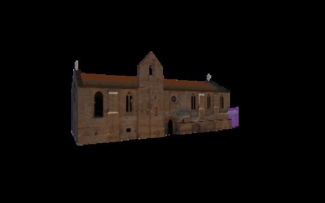 Santa Clara-a-Velha monastery 3D Model