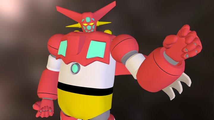 getter robo ONE 3D Model