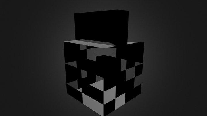 modeled building.blend 3D Model
