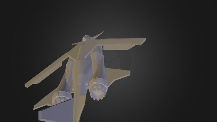 avion.3ds 3D Model