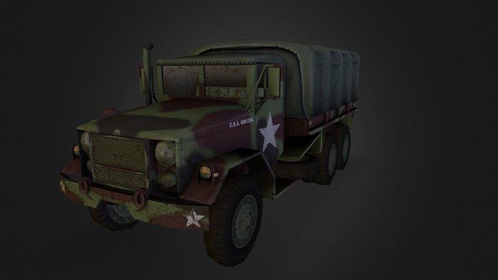 REO M35 3D Model