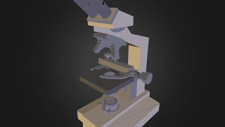Microscope N031107.3DS 3D Model