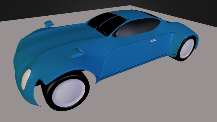 Car9blend.blend 3D Model