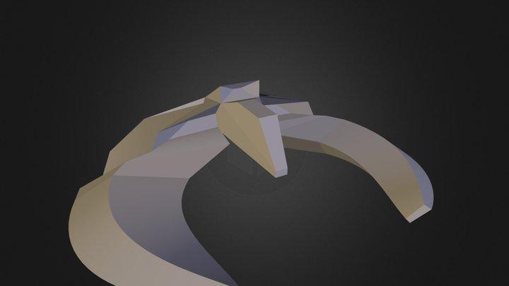 Space ship Paul Potter 3D Model