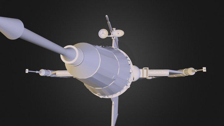 Pursuit_Ship 3D Model