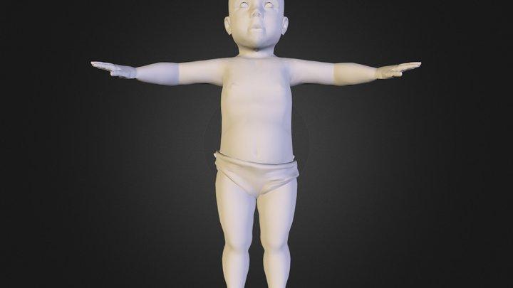 baby.obj 3D Model