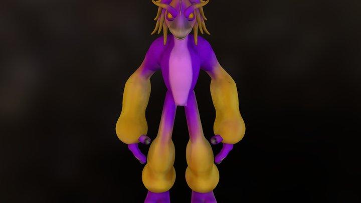 Cabalista Saccato 3D Model